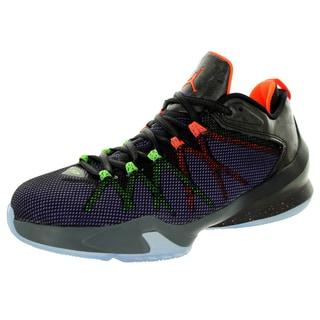 Nike Jordan Kid's Jordan Cp3.Viii Ae Bg Black/ Crmsn/Elctrc G/Prp Basketball Shoe