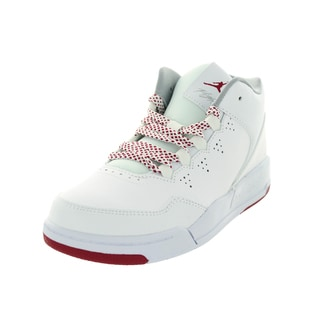 Nike Jordan Kid's Jordan Flight Origin 2 Gp White/Brilliant Magentaa/Wlf Basketball Shoe