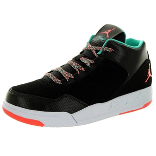 Nike Jordan Kid's Jordan Flight Origin 2 Gp Black/Hot Lava/Lt Retro/White Basketball Shoe