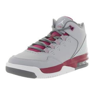 Nike Kid's Jordan Flight Origin 2 Gg Wlf /White/Sprt Fchs/Grey Basketball Shoe