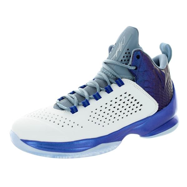 3564de078da6 Shop Nike Jordan Kid s Jordan Melo M11 Bg White White Game Royal Cl ...