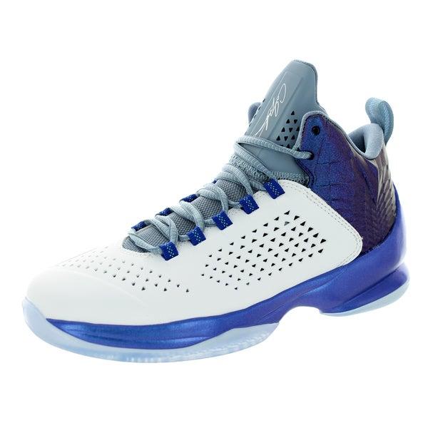 3968cae5c6320 Shop Nike Jordan Kid's Jordan Melo M11 Bg White/White/Game Royal/Cl ...