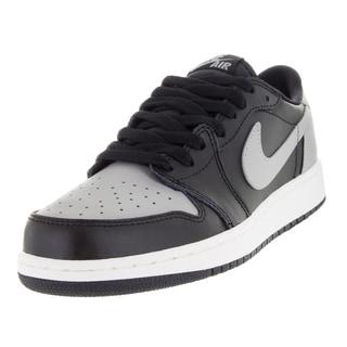 Nike Kid's Air Jordan 1 Retro Low Og Bg Black/Medium Grey/Sail Basketball Shoe