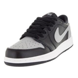 Nike Kid's Air Jordan 1 Retro Low Og Bg Black/Medium Grey/Sail Basketball Shoe (5 options available)