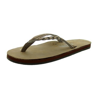 Rainbow Sandals Women's Flirty Braidy Dark Brown Sandal Ladies 10 (9.5-10.5 Women's Us)