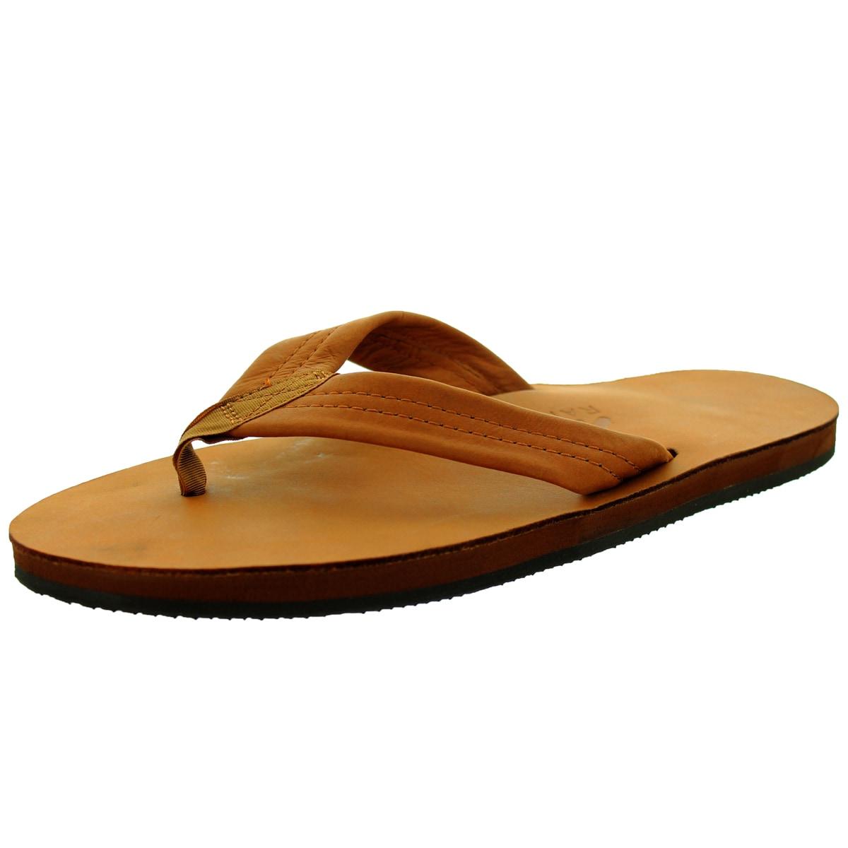 Rainbow Sandals Men's Single Layer Premier Tt Tan Sandal ...