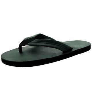 Rainbow Sandals Men's Single Layer Premier Tt Black Sandal (Option: 15)