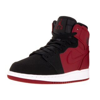 Nike Jordan Kid's Air Jordan 1 Retro High Bg Gym Red/Black/White Basketball Shoe