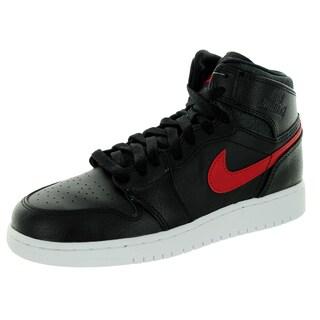 Nike Jordan Kid's Air Jordan 1 Retro High Bg Black/Gym Red/Black/White Basketball Shoe (2 options available)