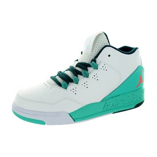 Nike Jordan Kid's Jordan Flight Origin 2 Bp White/Infrared 23/Retro/Teal Basketball Shoe