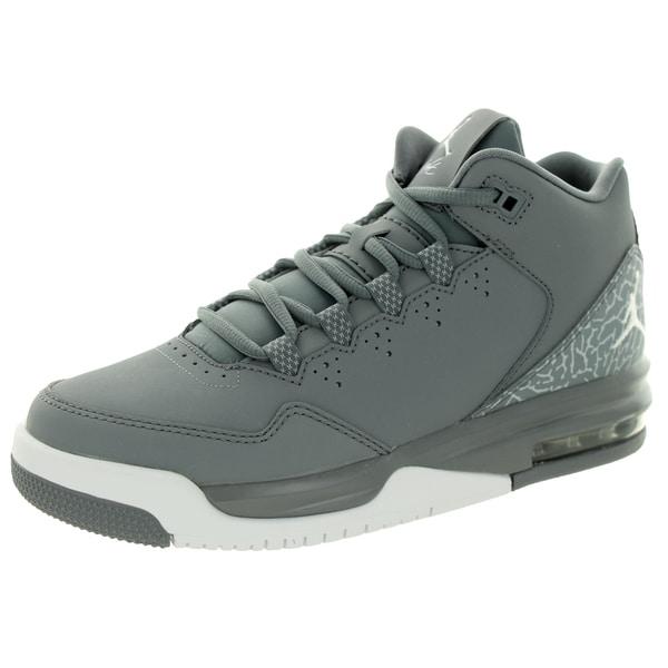 a6280587b8f Shop Nike Jordan Kid s Jordan Flight Origin 2 Bg Cool Grey White ...