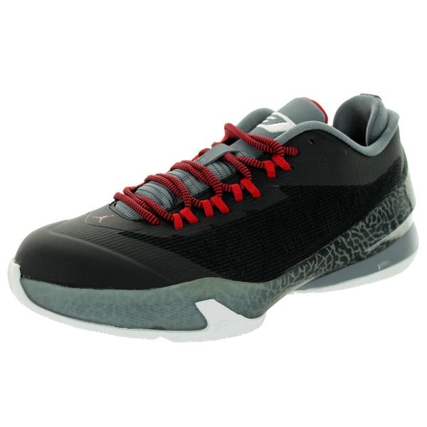 63933347c4b6 Shop Nike Jordan Kid s Jordan Cp3.Viii Bg Black White Cool Grey Gym ...