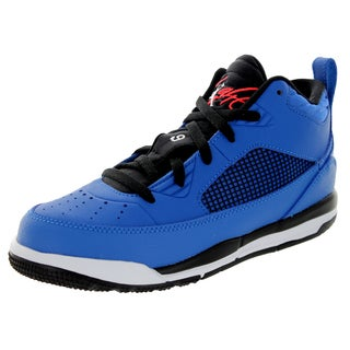 Nike Jordan Kid's Jordan Flight 9.5 Bp Sport Blue/White/Black/ Basketball Shoe