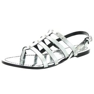 Diesel Women's D-Anna Silver Sandal