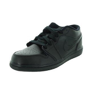 Nike Jordan Kid's Jordan 1 Low Bp Black Basketball Shoe