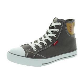 Levi's Kid's Hamilton Buck Charcoal/Brown Casual Shoe