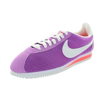 Nike Women's Classic Cortrez Br Fushia Glow/White/Lava Glow Casual Shoe