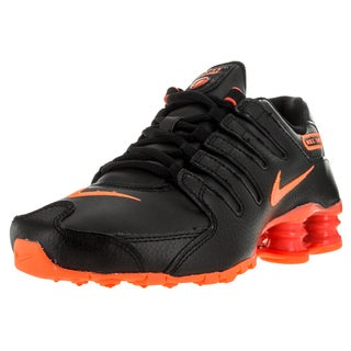 Nike Women's Shox Nz Black/Brightt Mango/Brgh Running Shoe