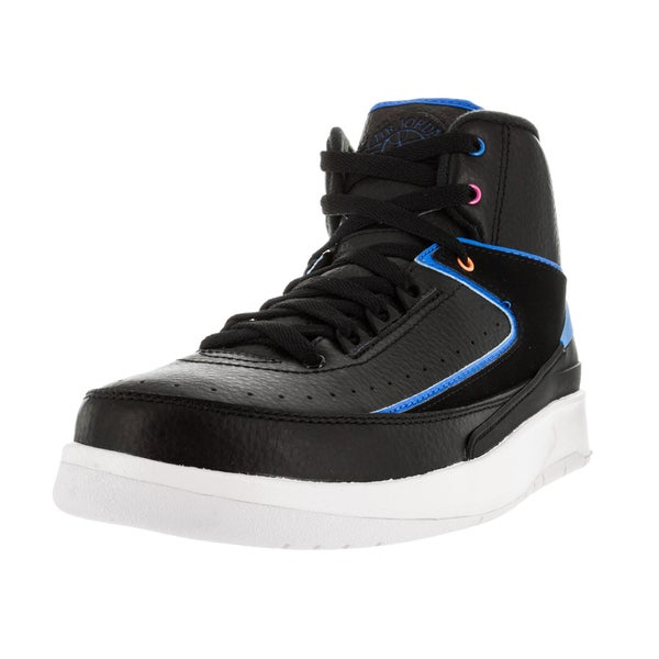 promo code f10f8 12088 Nike Jordan Kid  x27 s Air Jordan 2 Retro Bg Black Photo Blue