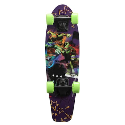 Playwheels Kid's Teenage Mutant Ninja Turtles 21-inch Complete Skateboard
