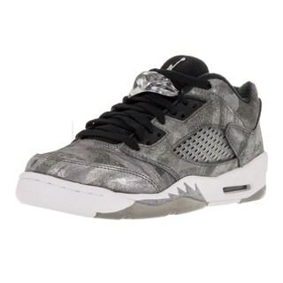 Nike Jordan Kid's Air Jordan 5 Retro Prem Low Gg Cool Grey/Wolf Grey/White/Black Basketball Shoe