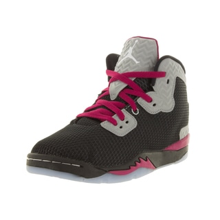 Nike Jordan Kid's Jordan Spike Forty Gp Black/White/Rflct Slvr/Sprt Fchs Basketball Shoe