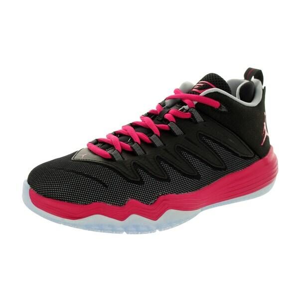 eac85b5283d Shop Nike Jordan Kid s Jordan Cp3.Ix Gg Black Sports Fuchsia Wolf ...