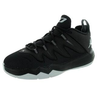 Nike Jordan Kid's Jordan Cp3.Ix Bp Black/Metallic Silver/Anthrct Basketball Shoe