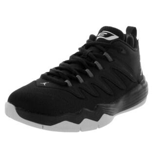Nike Jordan Kid's Jordan Cp3.Ix Black/Metallic Silver/Anthracite Basketball Shoe