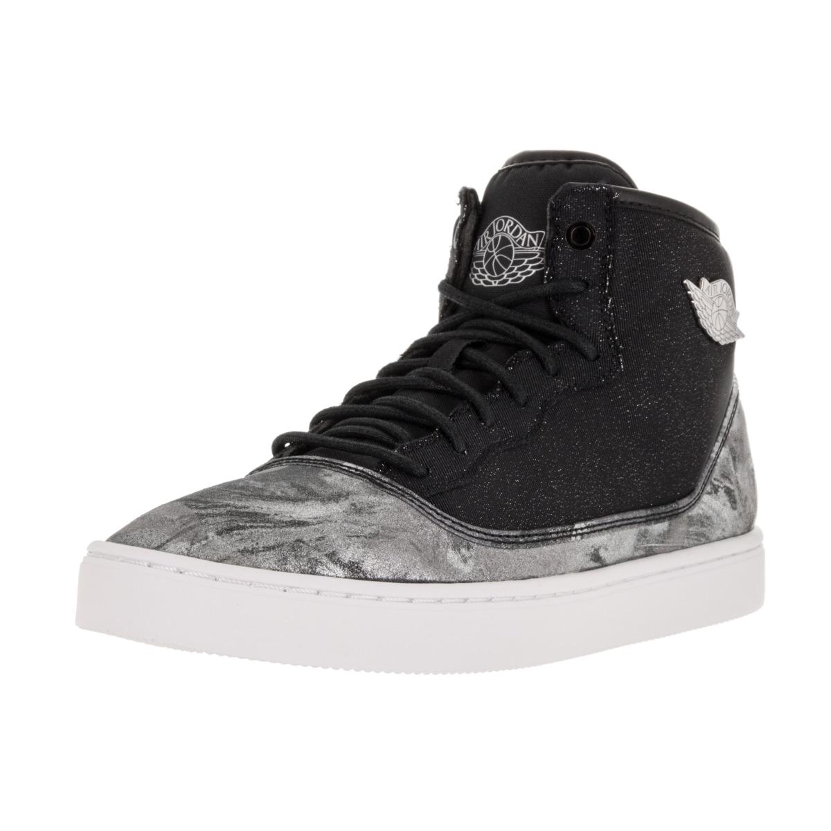 Nike Jordan Kid's Jordan Jasmine Prem Gg Black/Metallic S...