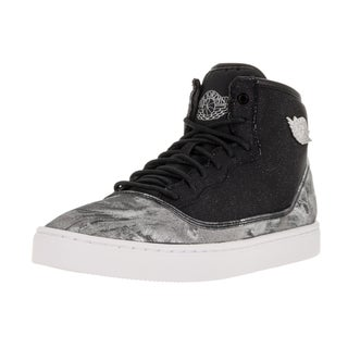 Nike Jordan Kid's Jordan Jasmine Prem Gg Black/Metallic Silver/White/Gym Red Casual Shoe