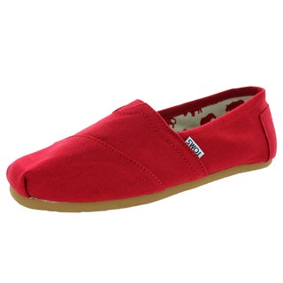 Toms Men's Classic Red Casual Shoe