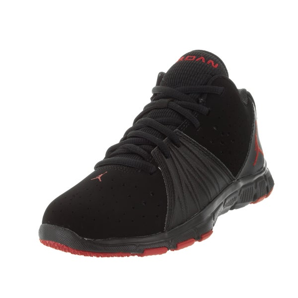 9e13d0dc3c4892 Shop Nike Jordan Kid s Jordan 5 Am Bp Black Gym Red Black Training ...