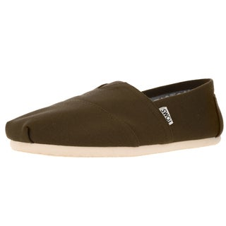 Toms Men's Classic Military Olive Casual Shoe
