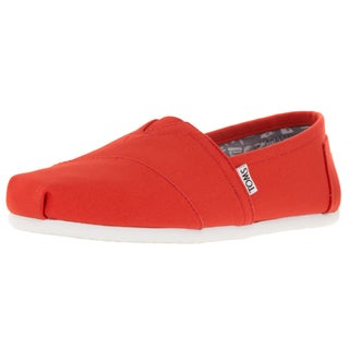 Toms Men's Classic Brightt Orange Casual Shoe