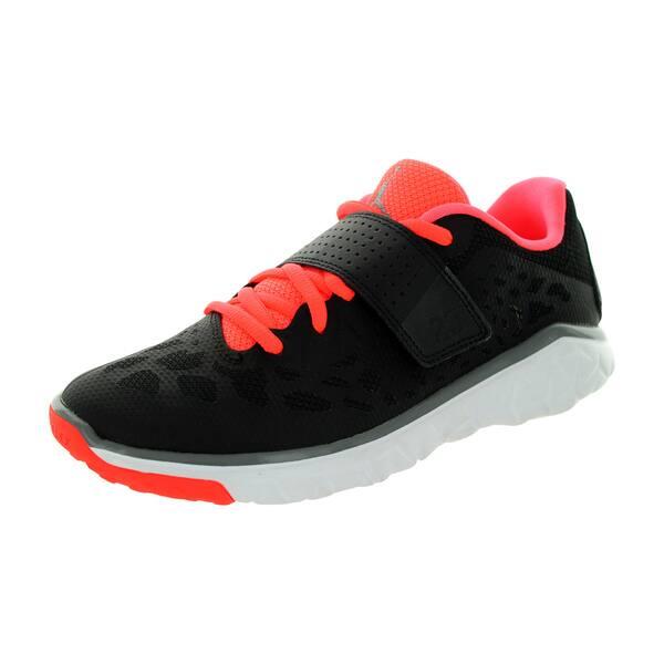 new arrivals b5288 3d3d5 Shop Nike Jordan Kid's Jordan Flight Flex Tr 2 Gg Black/Cool ...