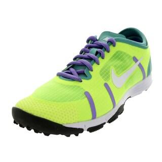 Nike Women's LunareleMen'st Volt/White/Dffsd Jade/Atmc Vlt Training Shoe