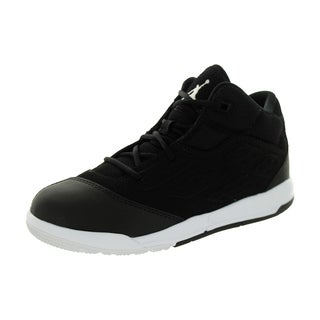 Nike Jordan Kid's Jordan New School Bp Black/White/Black Basketball Shoe
