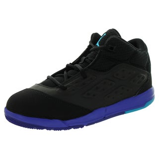 Nike Jordan Kid's Jordan New School Bp Black/Blue Laggon/d Basketball Shoe