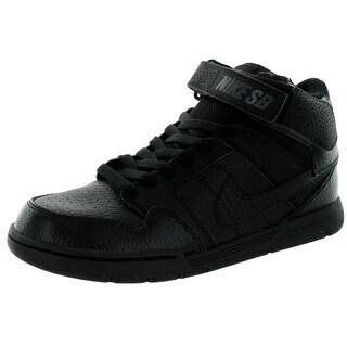 Nike Kid's Mogan Mid 2 Jr B Black/Black Skate Shoe