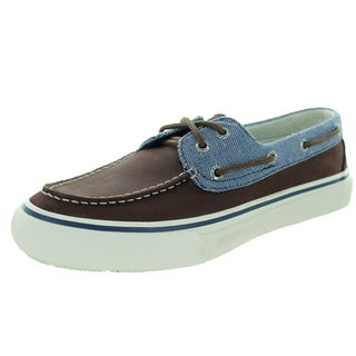 Sperry Top-Sider Men's Bahama 2-Eye Fleck Brown Boat Shoe