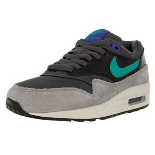 Nike Women's Air Max 1 Essential Dark Grey/Hyper Jade/Black Running Shoe