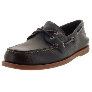 Sperry Top-Sider Men's Authentic Original 2-Eye Cross Lace Boat Shoe