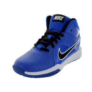 Nike Kid's Team Huse D 6 (Ps) Game Royal/Black/Gm Royal/White Basketball Shoe