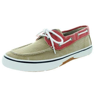 Sperry Top-Sider Men's Halyard S/O Chino/Red Boat Shoe