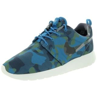Nike Women's Roshe One Print /Wlf /Obsdn/Blue Running Shoe