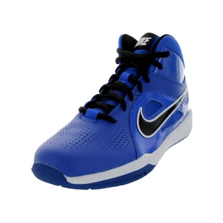 Nike Kid's Team Huse D 6 (Gs) Game Royal/Black/Gm Royal/White Basketball Shoe