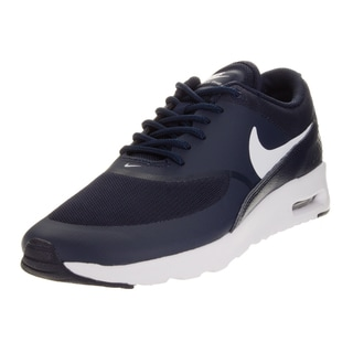 Nike Women's Air Max Thea Obsidian/White Running Shoe