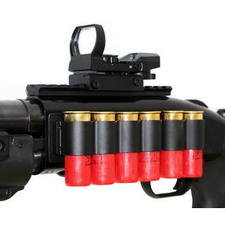 Trinity Tactical Shotgun Scope Mount, Shell Holder and Reflex Sight Kit For Mossberg 500