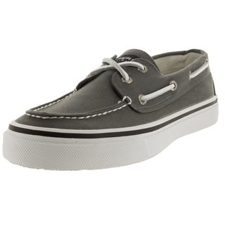 Sperry Top-Sider Men's Bahama 2-Eye Varsity Grey Boat Shoe